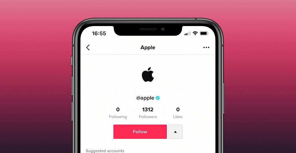 Apple đã có 1 tài khoản TikTok chính thức