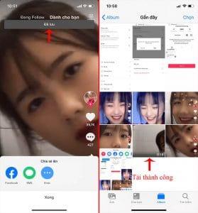 Cách tải video trên Tik Tok về điện thoại 2020