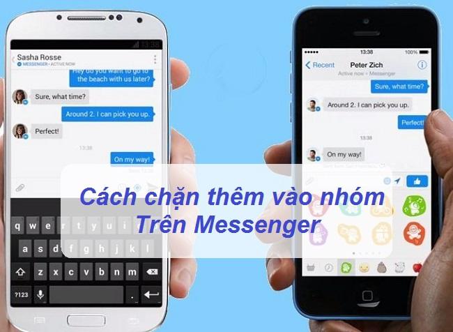 cach chan them vao nhom tren messenger