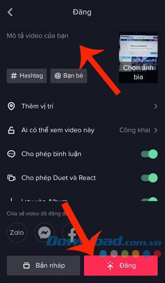 huong dan ch232n chu v224o video tik tok 9