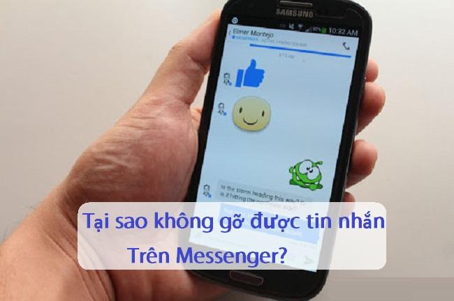 khong go duoc tin nhan messenger