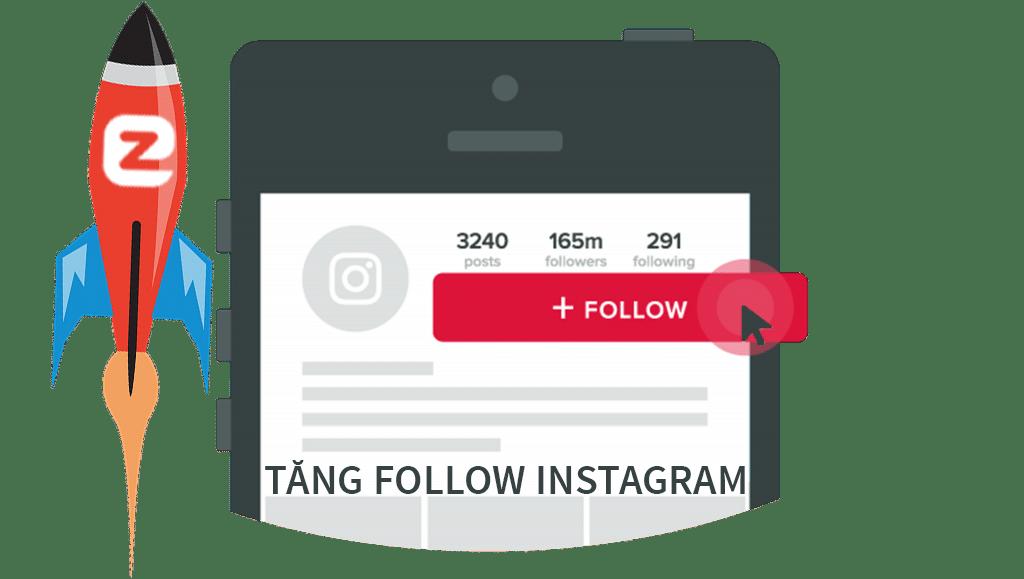 Dịch vụ tăng follow instagram người Việt Nam